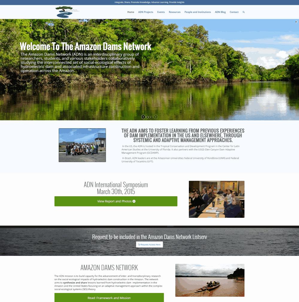 Amazon Dams Network